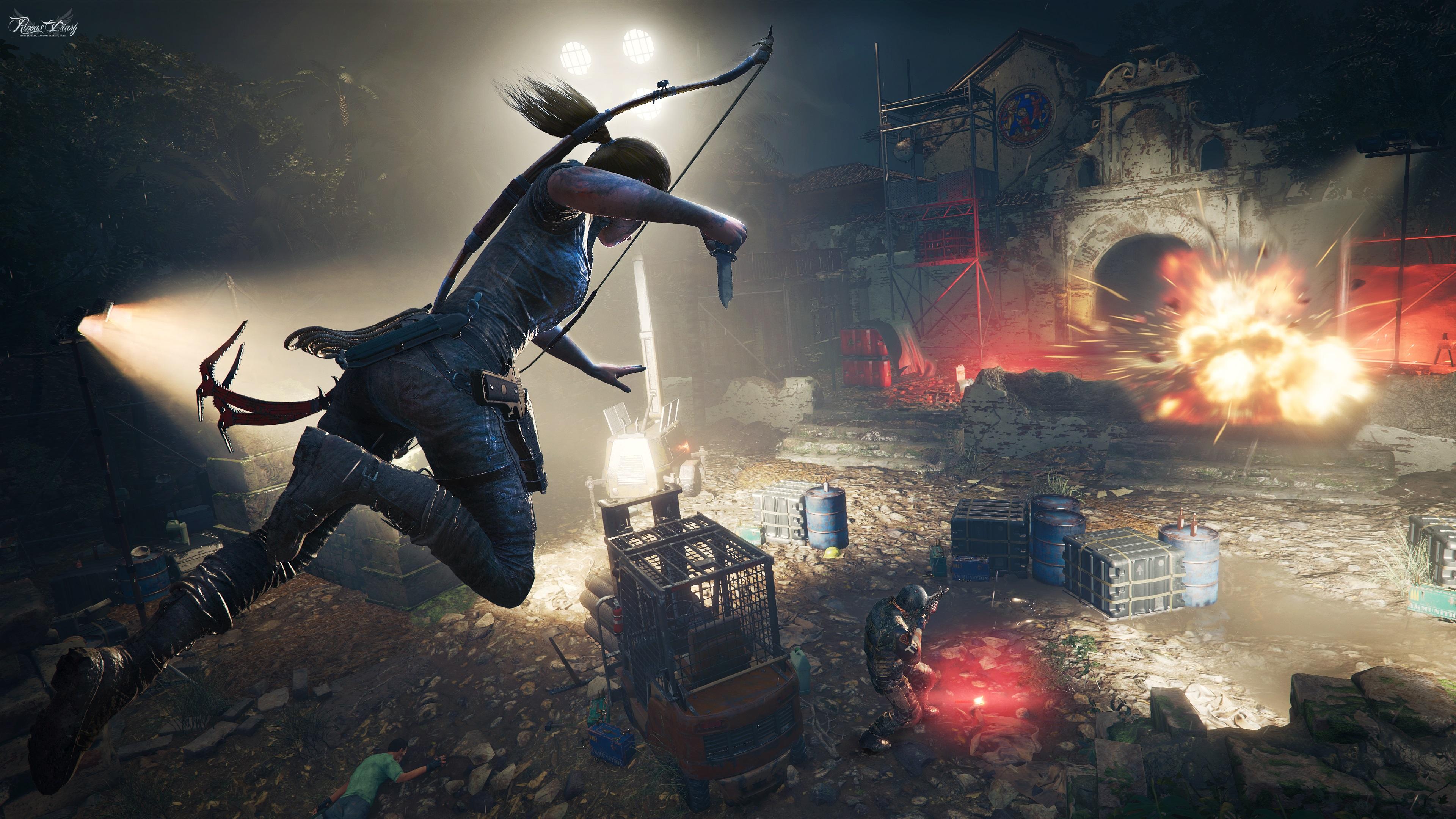 """""""Combat Tactics"""": le tecniche di combattimento di Lara in Shadow of the Tomb Raider!"""