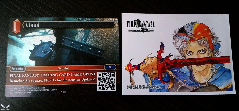 Final Fantasy Trading Card Game arriva in Italia il 25 Novembre!