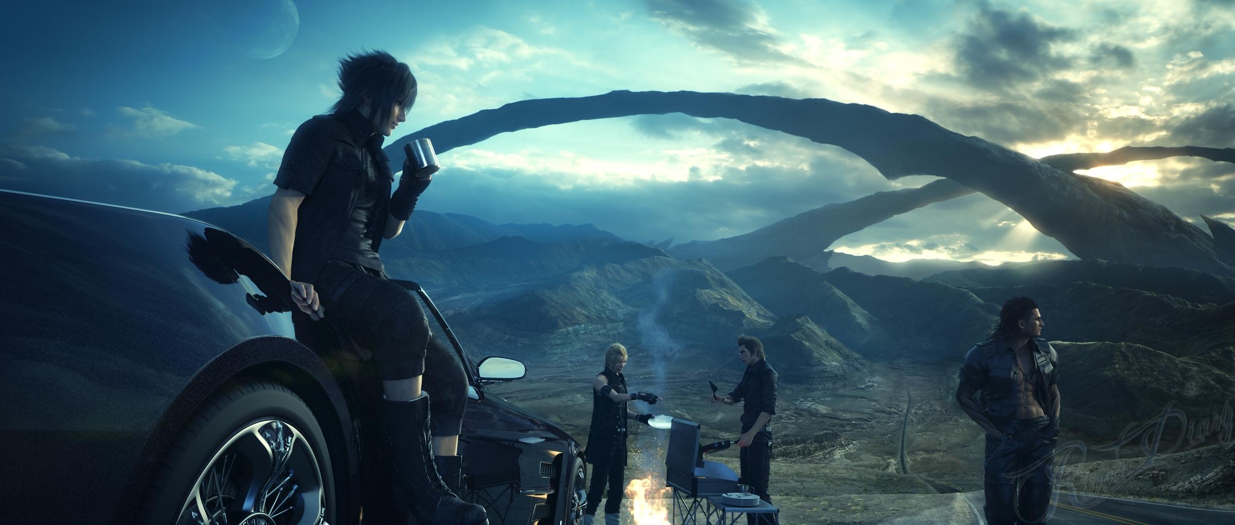 Una nuova tech-demo mostra Final Fantasy XV su PC!