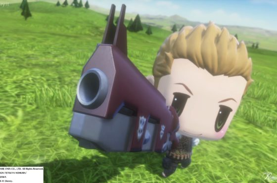 Balthier di FFXII è arrivato in World of Final Fantasy!