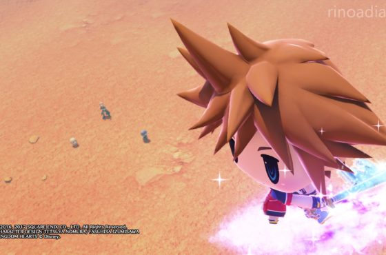 Ecco l'invocazione di Sora (Kingdom Hearts) in World of Final Fantasy!