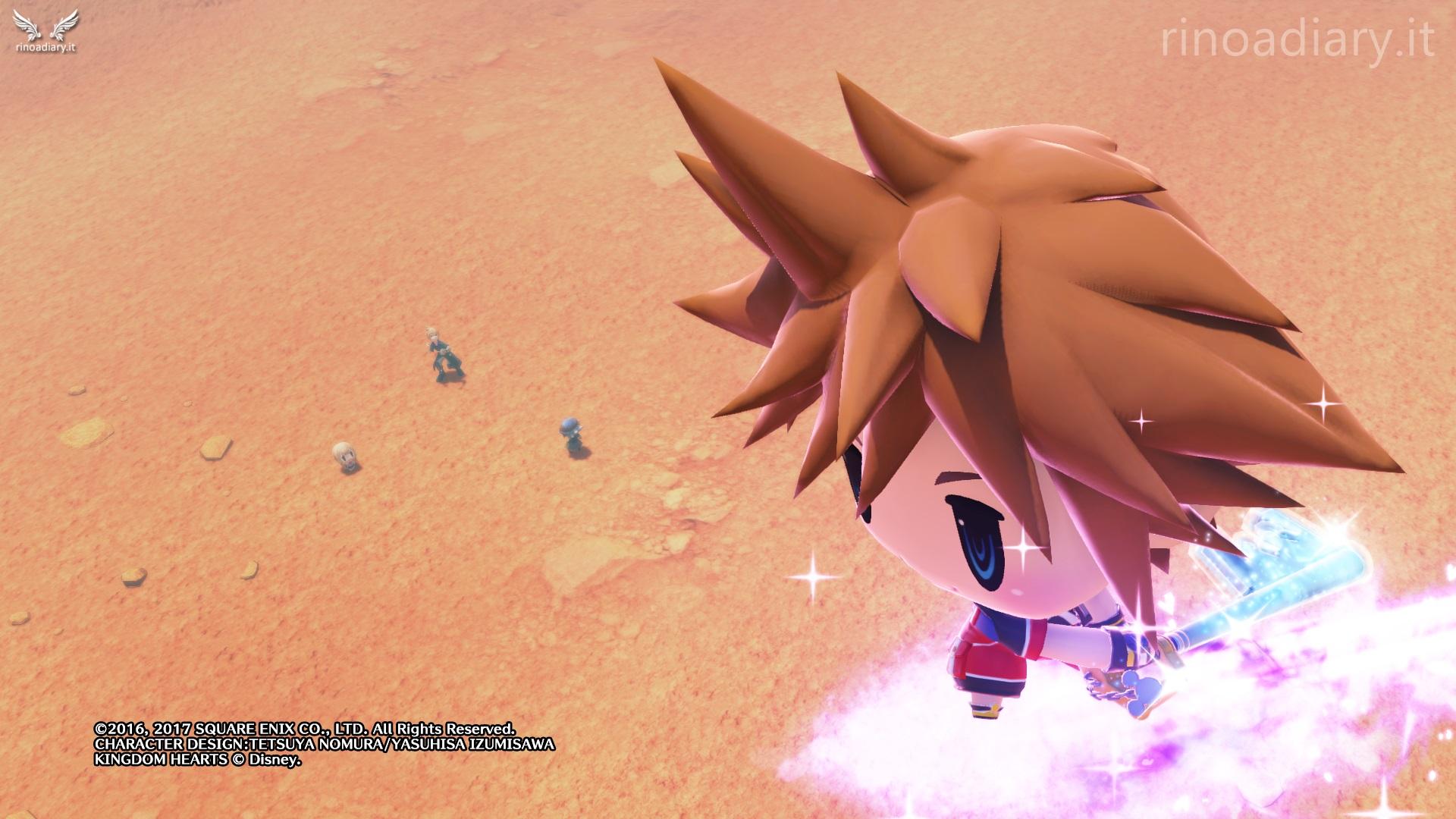 Ecco l'invocazione di Sora (Kingdom Hearts) in World of Final Fantasy!
