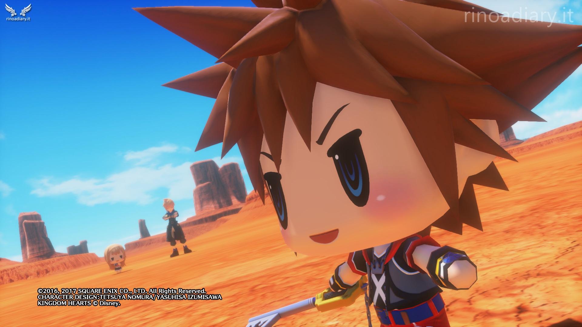 E' arrivato Sora, nuovo Campione di World of Final Fantasy!